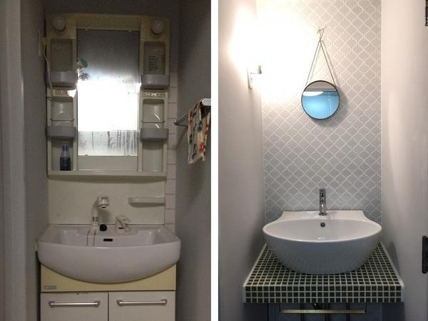 洗面所のリフォームで12万…もし、メルカリやDIYを駆使したら?