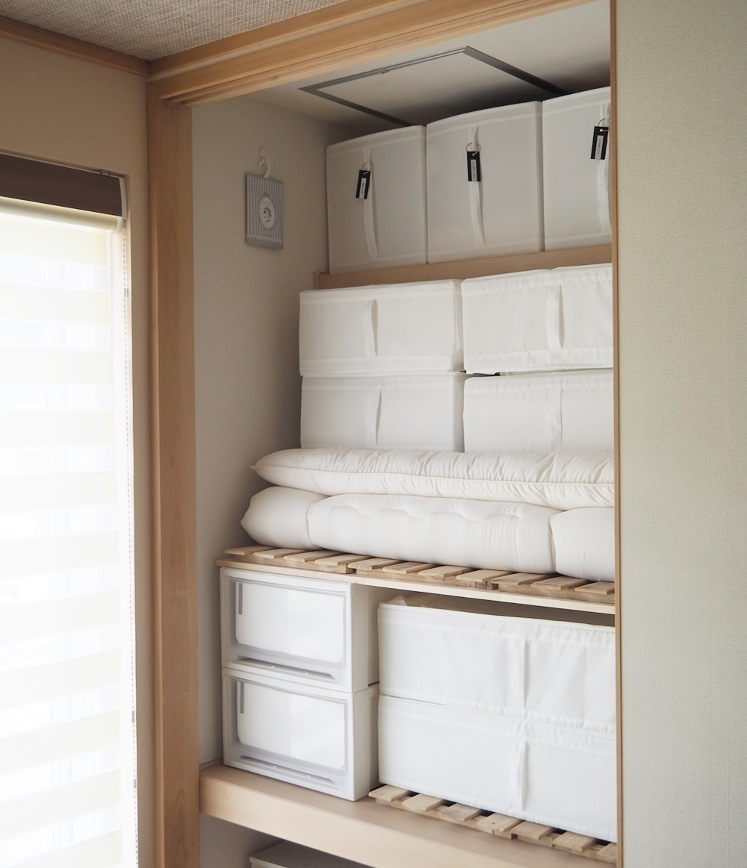 出し入れがビックリするほど楽に!布団は「個室収納」するべき、3つの理由