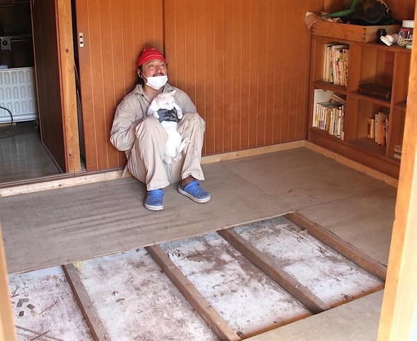 DIYで畳からフローリングに(3)床板をはがして分かった、家の構造とは?