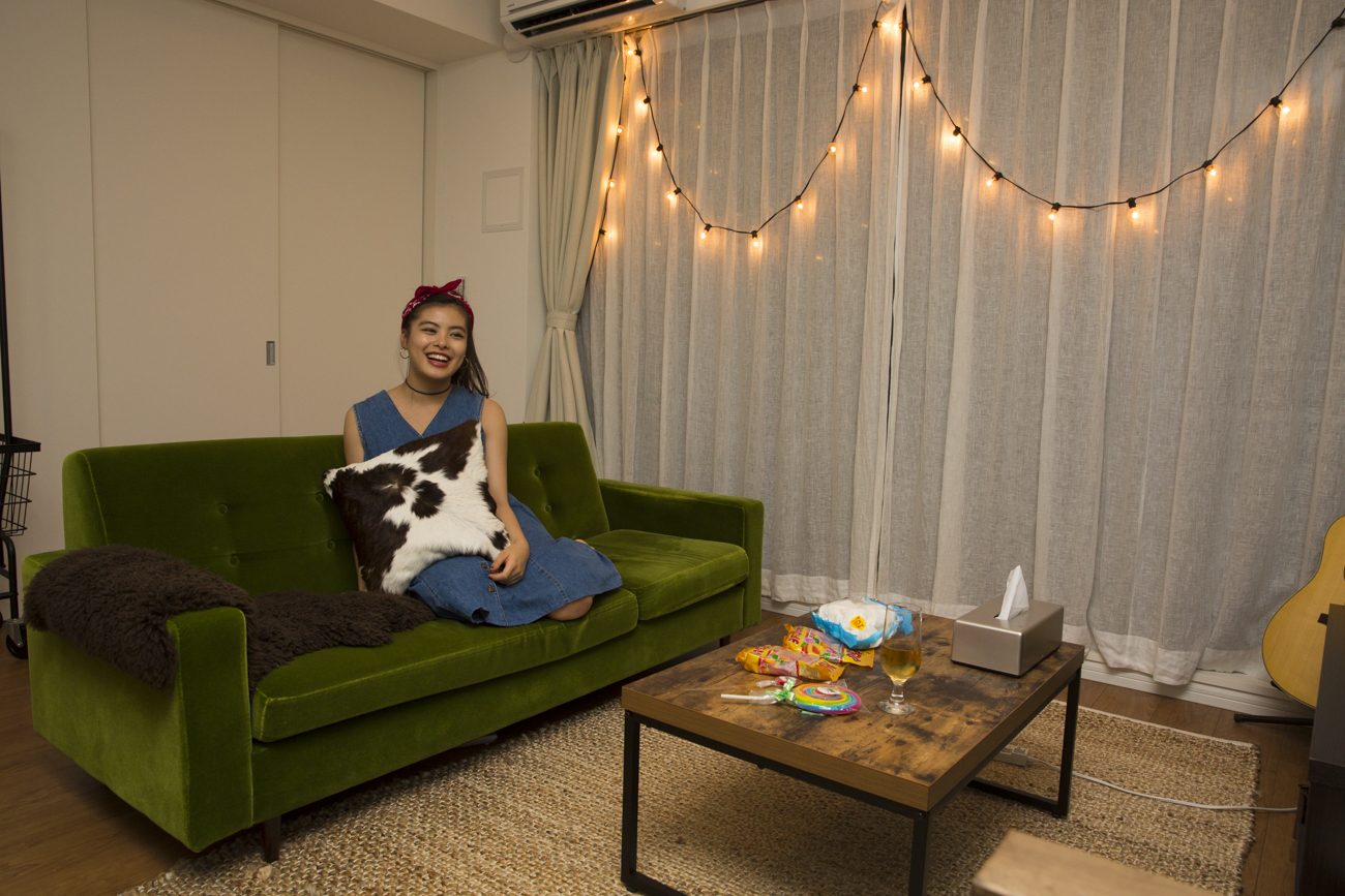 現役モデル・プラトンメリー恵梨の「家に帰りたくなる」部屋づくり