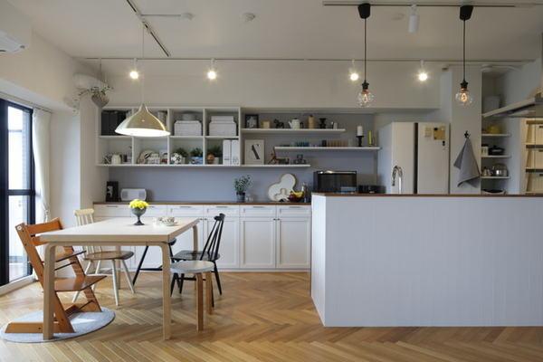 家族が集うLDKは妥協ナシで北欧家具が映える空間に