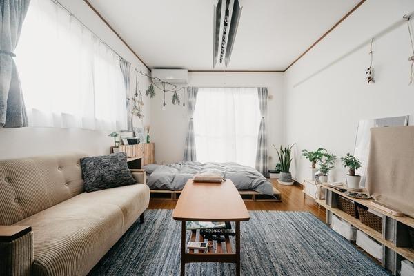 6畳~9畳の広さ別!1K・ワンルームの家具配置例
