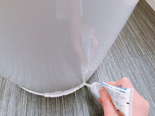 便器と床の隙間の困った汚れ。シーリング材でラクに解決