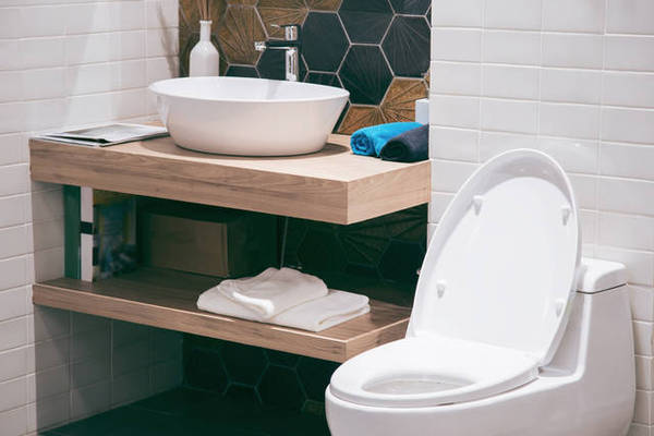 オシャレなトイレは手洗いカウンターが主役!参考実例5選!