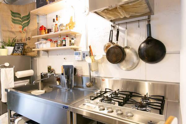 本格料理に首ったけ!キッチンに愛情注いだリノベ部屋!
