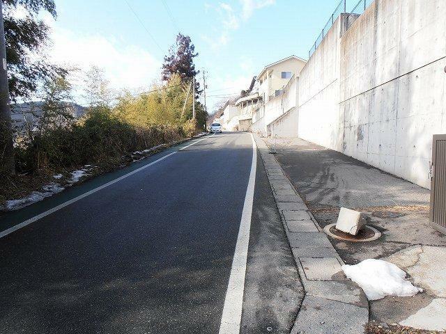 現況写真 前面道路(幅員:6m)