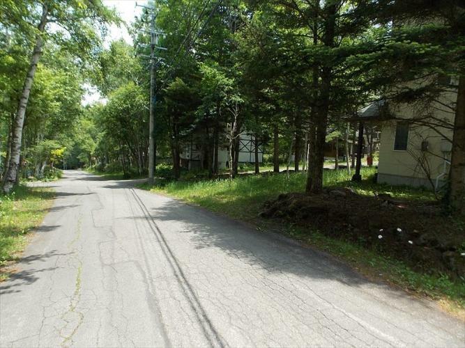 現況写真 前面道路2015年6月撮影