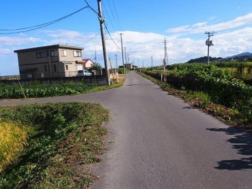 現況写真 西側 前面道路(北側から撮影)
