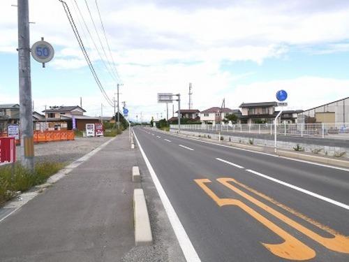 現況写真 開放的な前面道路