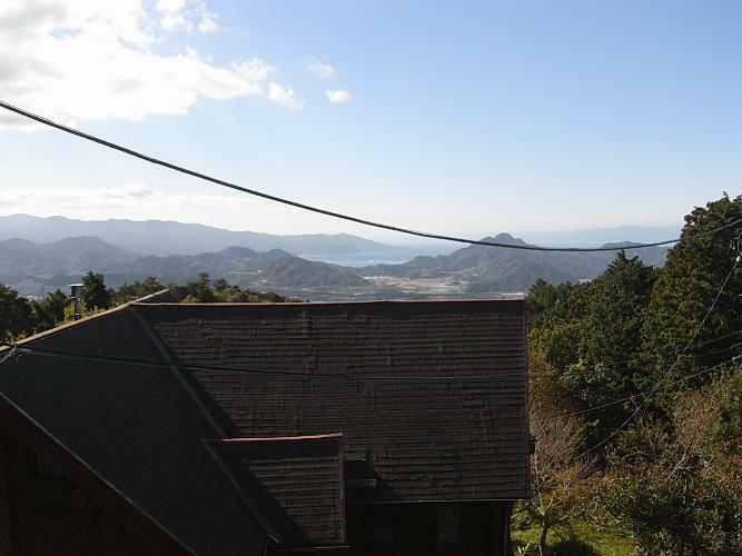 眺望 西伊豆の大瀬崎も見えます。