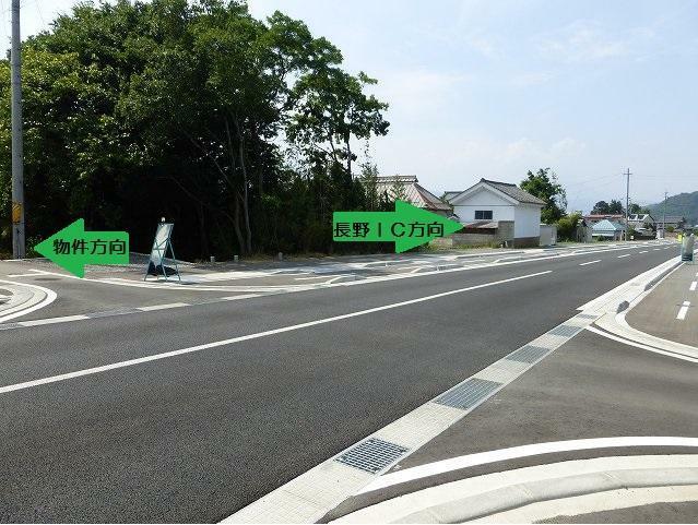 物件より東側に新しい道路ができました