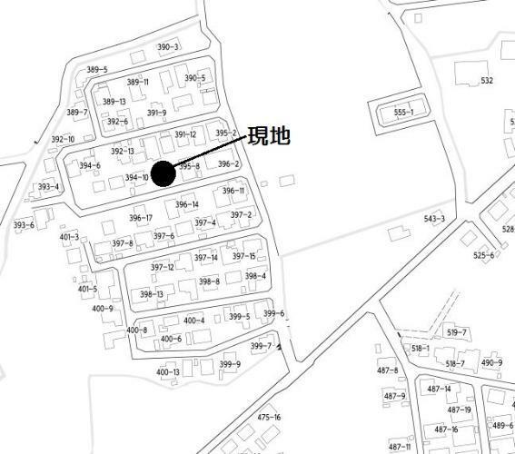区画図 地図