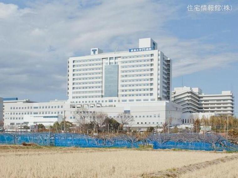 東海大学医学部付属病院 距離3040m