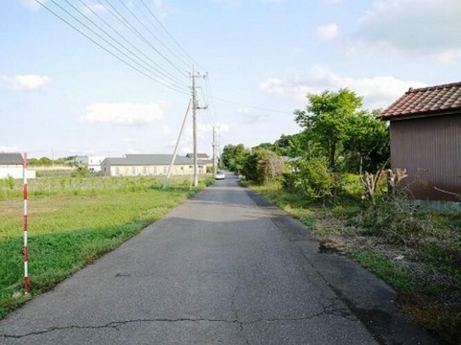 現況写真 見通しの良い前面道路です。