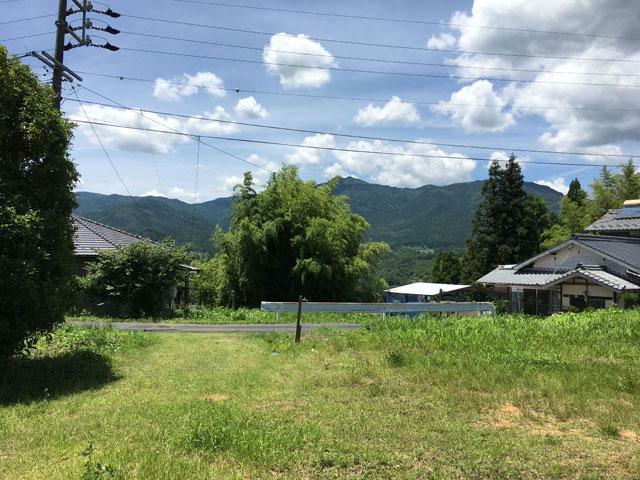 現況写真 福岡(宅地から見える二ツ森山)