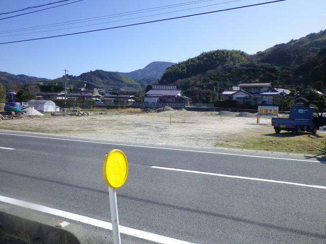 現況写真 歩道含む前面道路10M