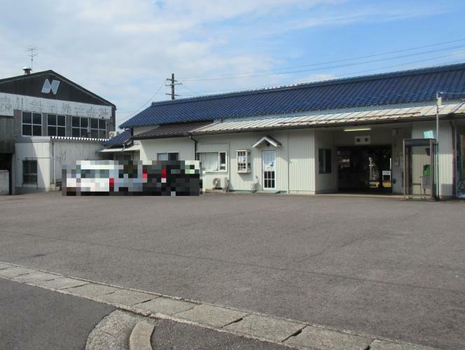 長良川鉄道「関」駅