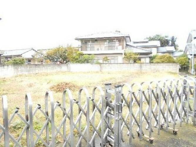 現況写真 高崎市新町 建築条件無し売地です。