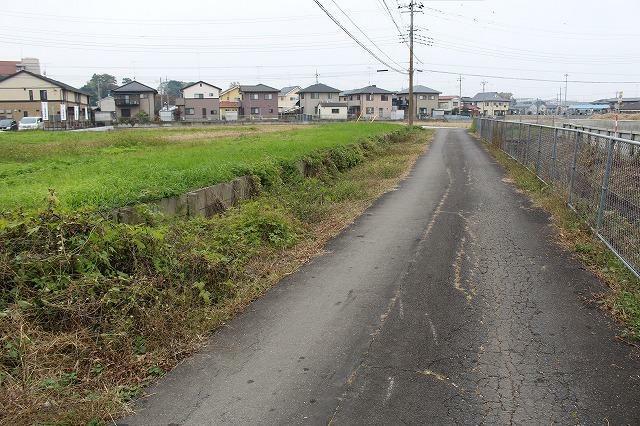 現況写真 東より(2017年11月撮影)