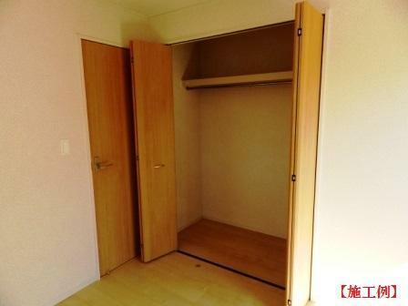 同仕様写真(内観) お掃除もラクチンなフローリングのお部屋です。(同一タイプ施工例)