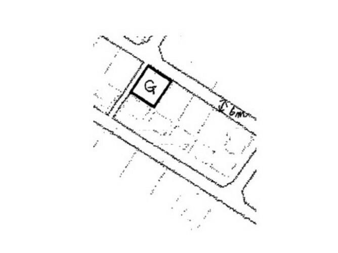 区画図 区画図です。敷地面積は約53坪ございます。