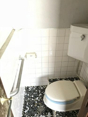 トイレ 和式のトイレです