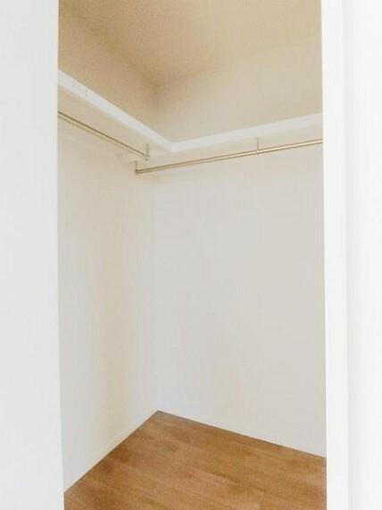 収納 7.5帖の主寝室にはウォークインクローゼット完備!