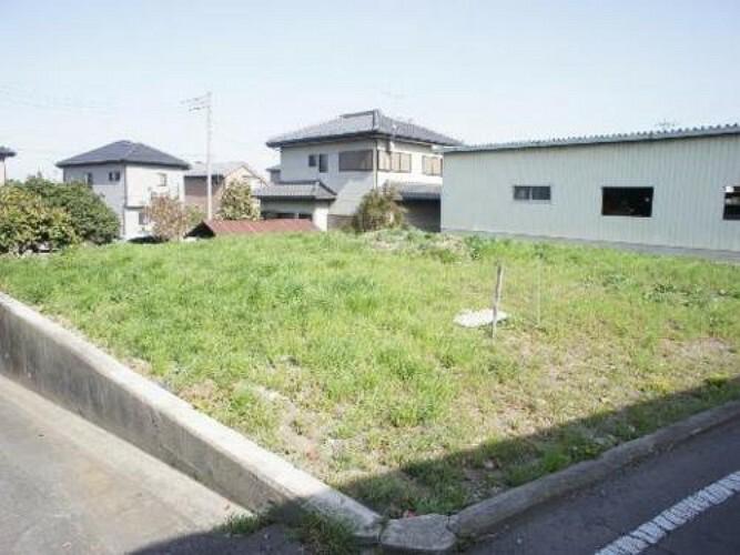 現況写真 高崎市本郷町 建築条件無し売地です。