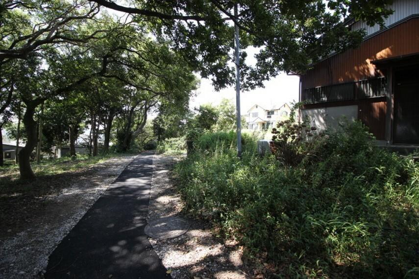 外観・現況 公園が近くにあるなど、自然豊かで快適な暮らし