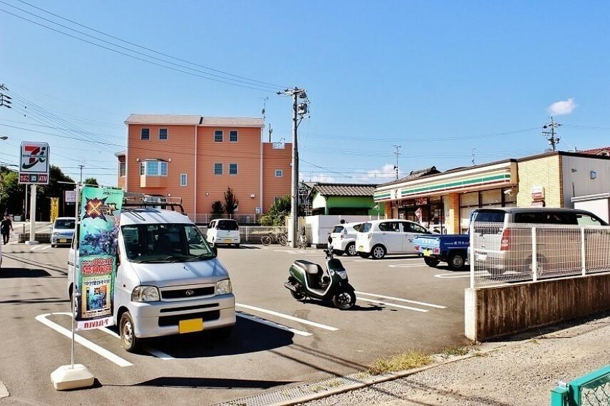 周辺の街並み セブンイレブン清水平川地店