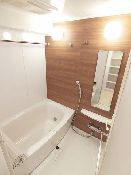 浴室 一日の疲れを癒してくれるお風呂です。
