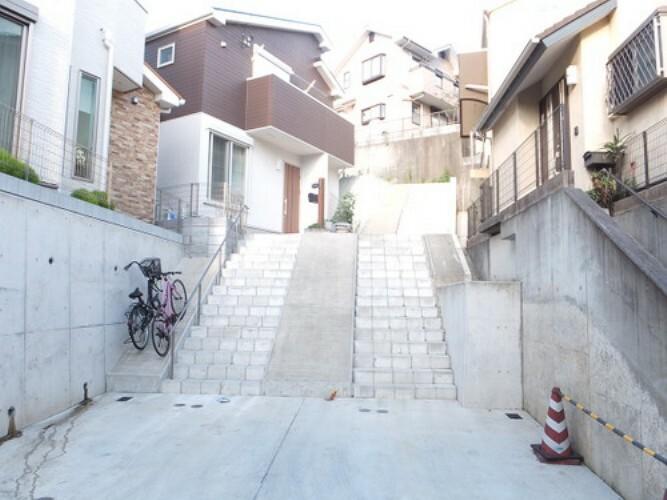 現況写真 横浜市港南区笹下3丁目 建築条件無し売地 C区画です。
