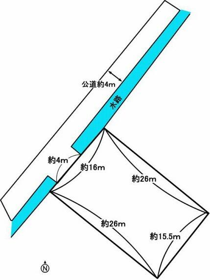 土地図面 地形図