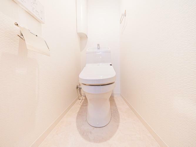 トイレ トイレ新規交換、保温洗浄便座新規取付