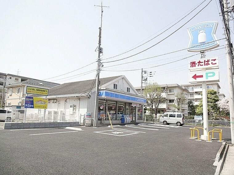 コンビニ ローソン志木ニュータウン店