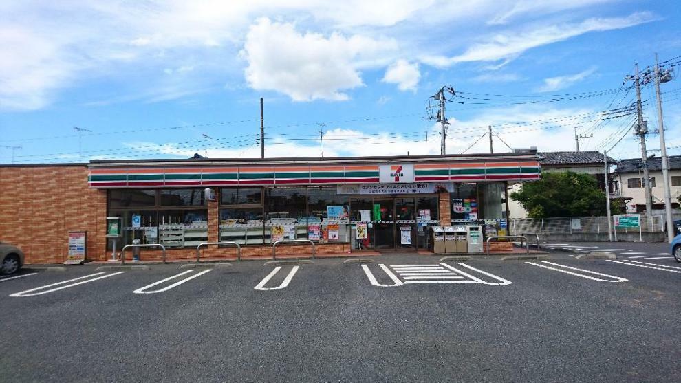 コンビニ セブンイレブン下館横島店