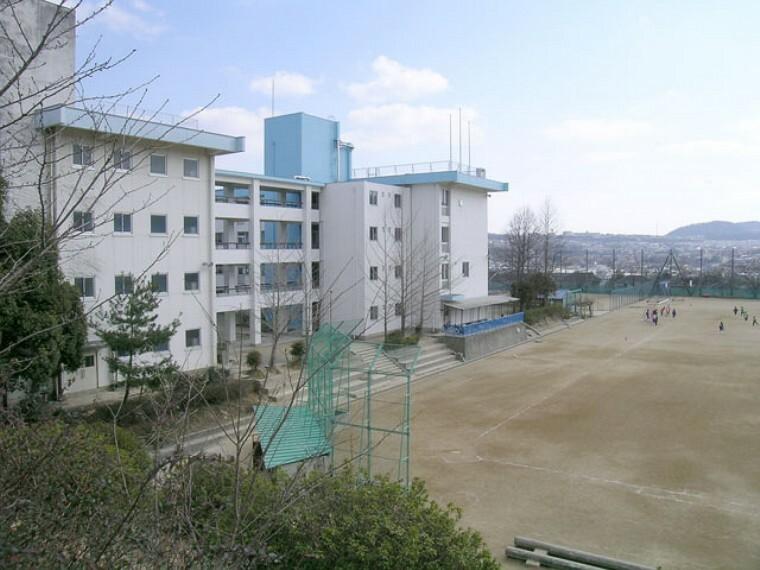 中学校 【中学校】川西市立中学校 清和台中学校まで546m