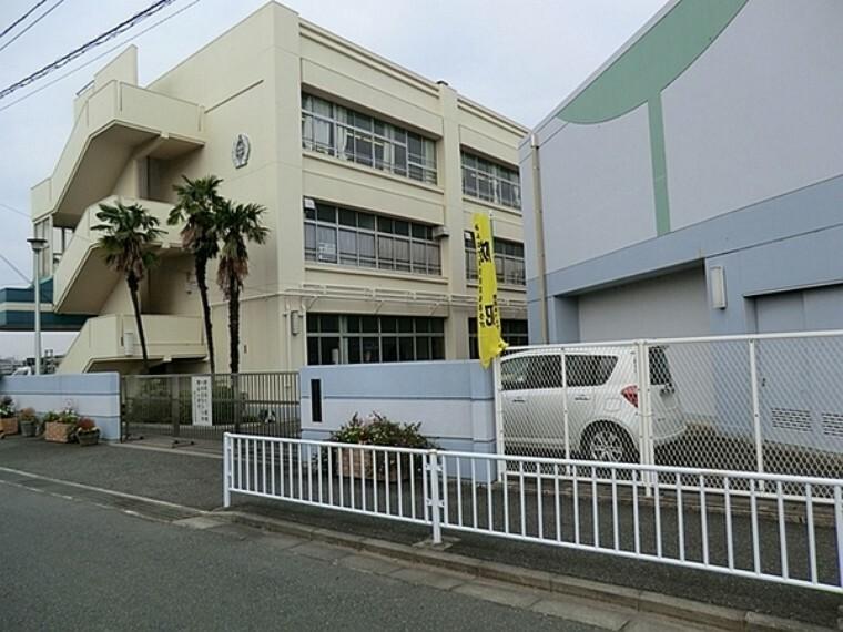 中学校 横浜市立中川中学校