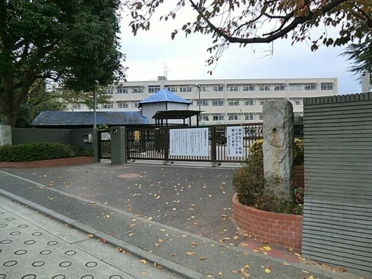 小学校 横浜市立中川小学校