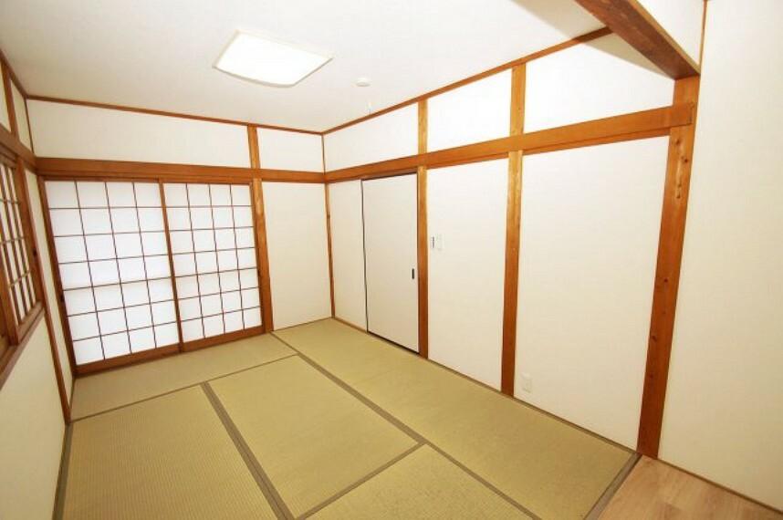 和室 独立型で、客間としてご利用しやすい和室です。玄関や水廻りも近くて便利。ご家族の個室にも適しています。