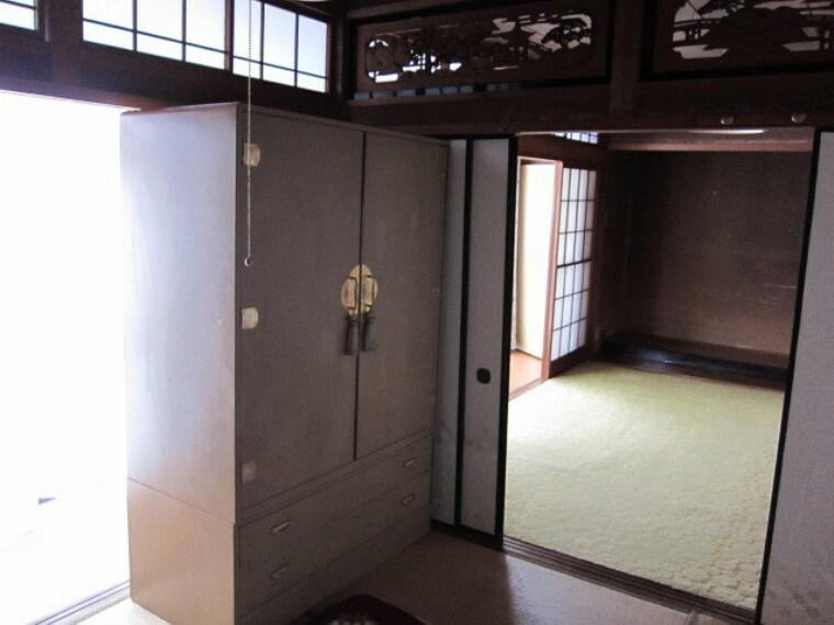 和室 和室南側に縁側あり  採光ばっちり(*^^)v