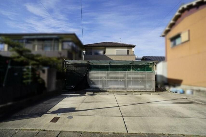 外観写真 JR勝川駅まで徒歩約18分の立地! 現地写真(2018年12月25日撮影)