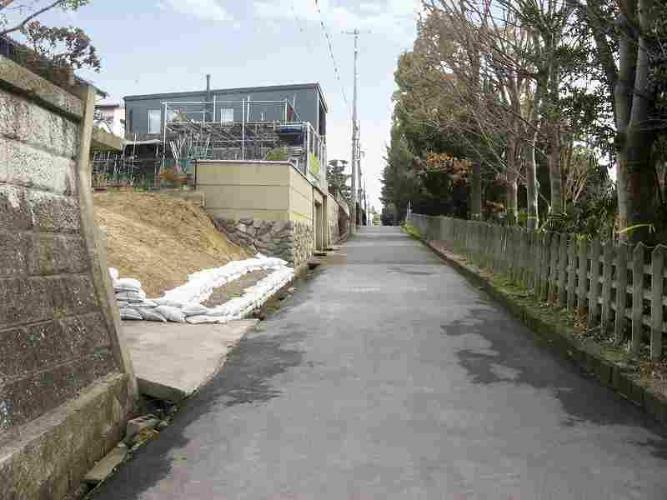 現況写真 右側は近鉄奈良線が通っています