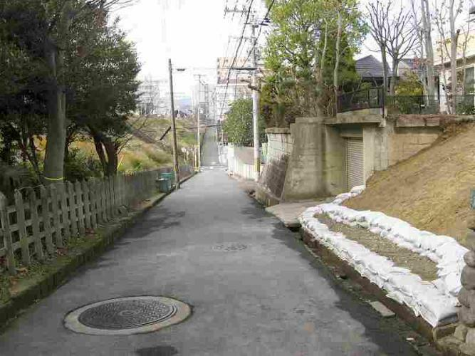 現況写真 左側は近鉄奈良線です