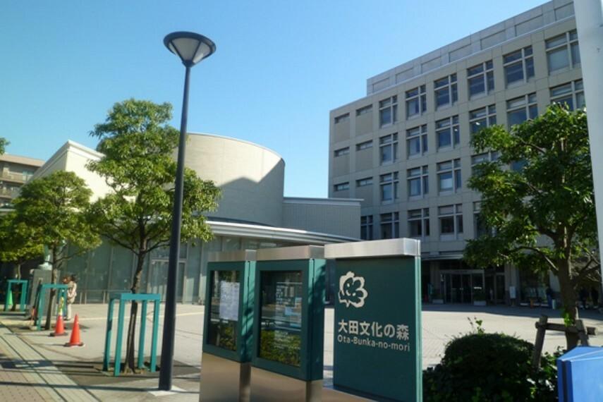 【公民館】大田文化の森まで893m