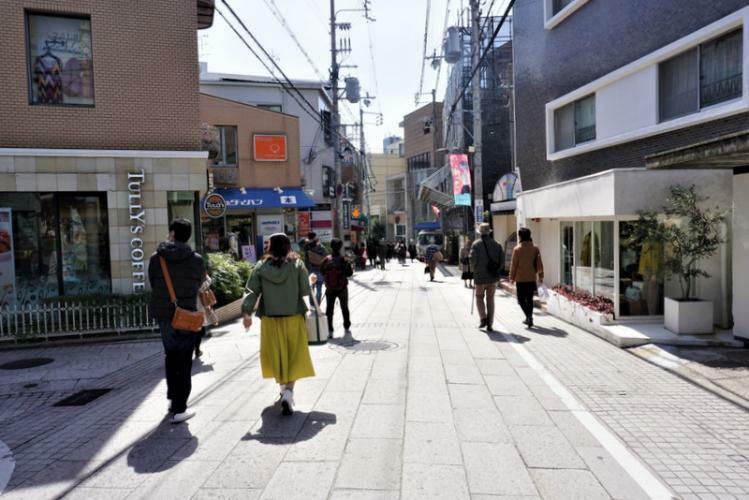 岡本駅周辺街並み