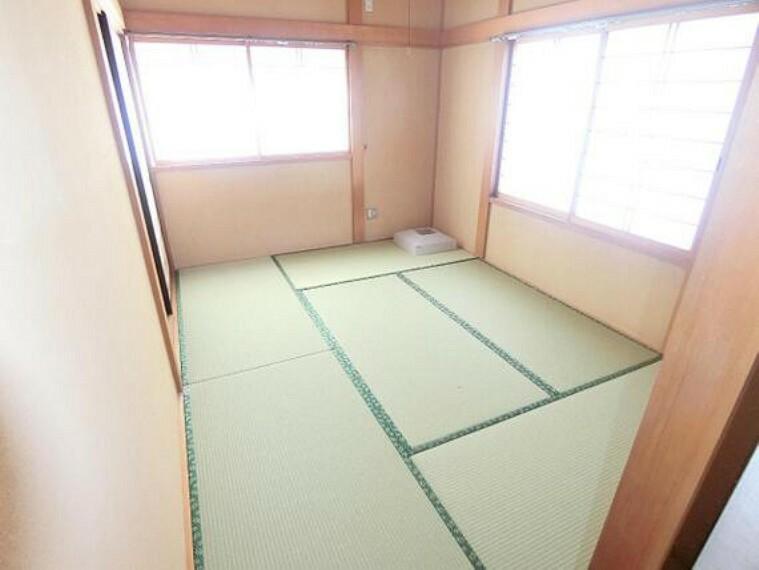 1階約6帖の和室です。