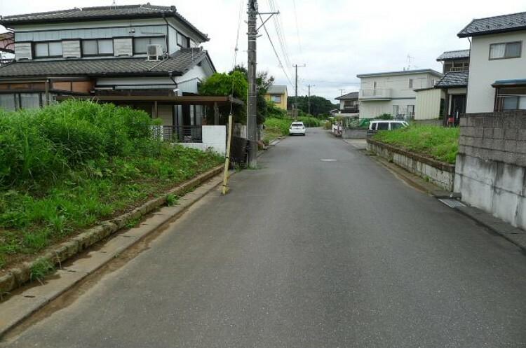 現況写真 南側から北側前面道路