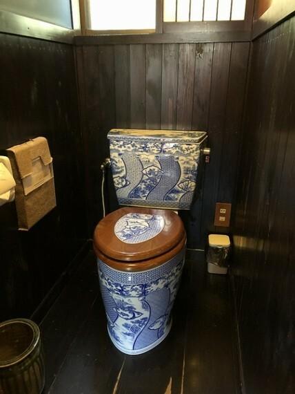 トイレ 有田焼の洋便器