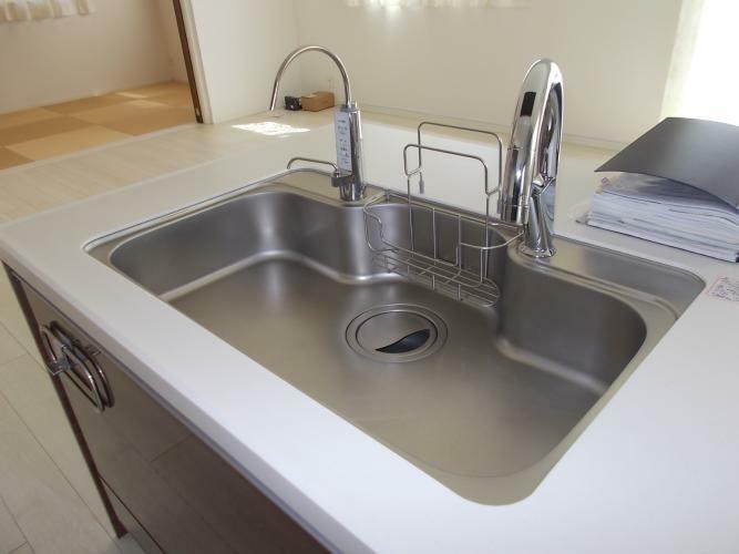 キッチン 浄水器付